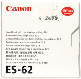 Canon ES-62 zonnekap