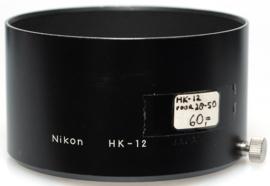Nikon HK-12 zonnekap