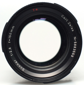 Hasselblad F FE Sonnar 150mm f2,8 incl Canon EF adapter