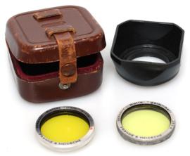 Rollei filterset met zonnekap bajonet 1