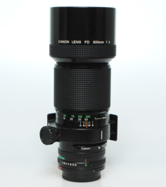 Canon FD f4.0 - 300mm (incl. gondel)