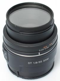 Sony 35mm f1,8 DT SAM