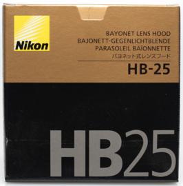 Nikon HB-25 zonnekap