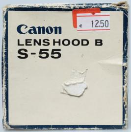 Canon FD S-55 zonnekap