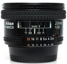 Nikon 20mm f2,8 AFD