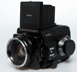 Rolleiflex SL66 E + f2.8 - 80mm & 120 cassette