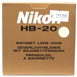 Nikon HB-20 zonnekap