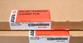 Agfa roller clean-up film