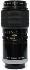 Canon FD 100mm f4,0 marco