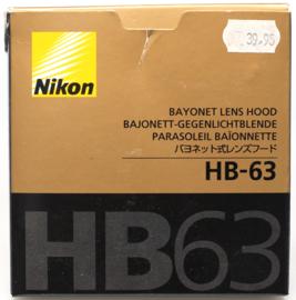 nikon HB-63 zonnekap