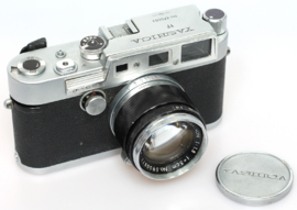 Yashica YF Nicca + Yashinon 50mm f1,8