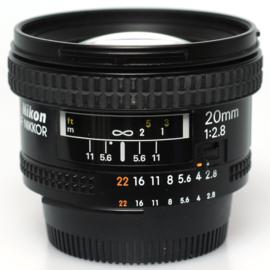 Nikon 20mm f2,8 AF-D