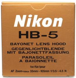 Nikon HB-5 zonnekap