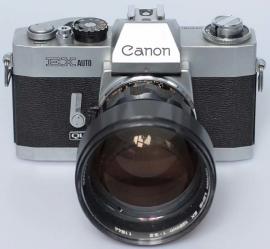Canon EX auto QL met 125 mm f 3,5