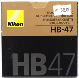 Nikon HB-47 zonnekap