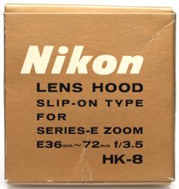 Nikon HK-8 zonnekap