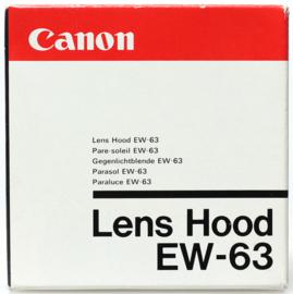 Canon EW-63 zonnekap