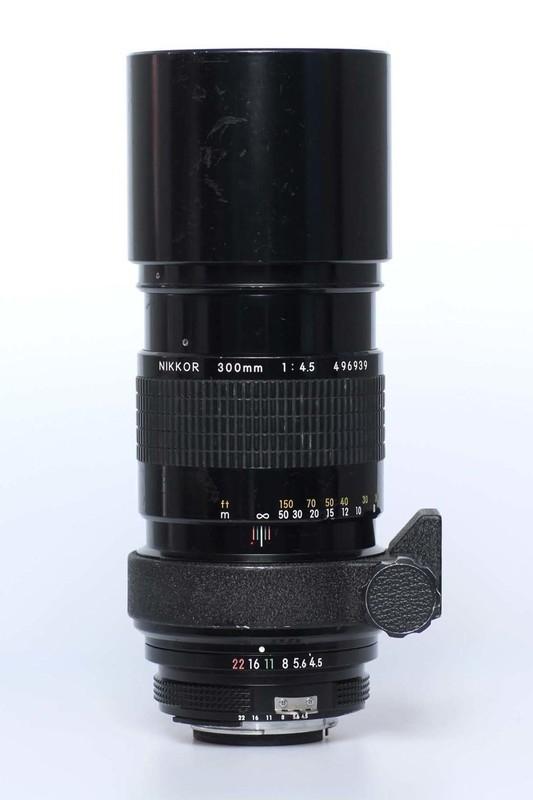 Nikon f4.5 - 300mm AI
