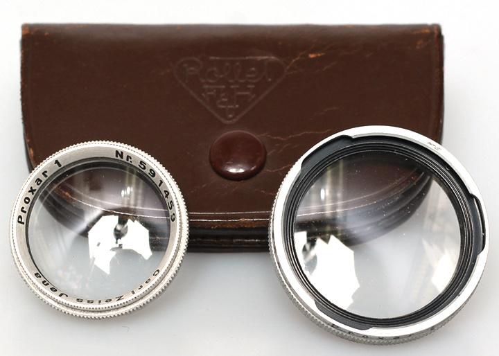 Rolleicord Proxar close-up set #1