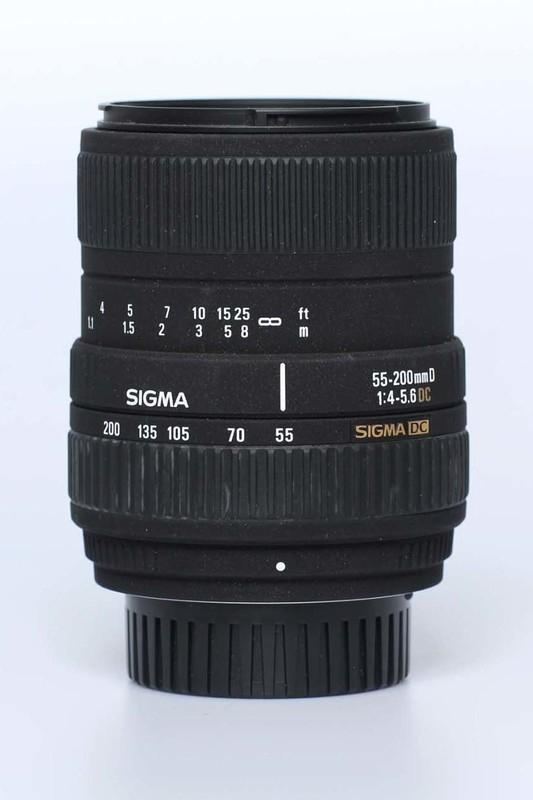 Sigma f4.0~5.6 - 55/200mm DC