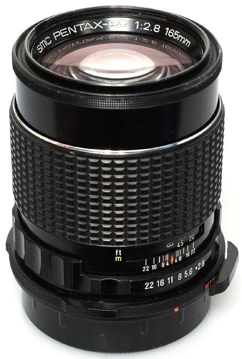 Pentax SMC 6x7 f2.8 - 165mm