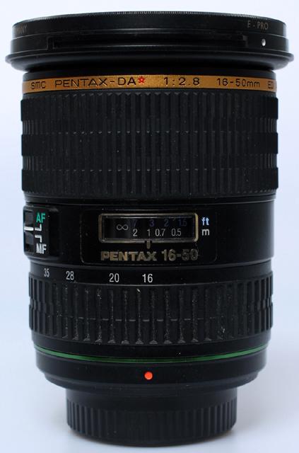 Pentax SMC f2.8 - 16-50mm AL (IF) SDM