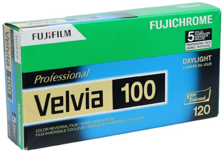 Fujicolor Velvia 100 120 vijfpak