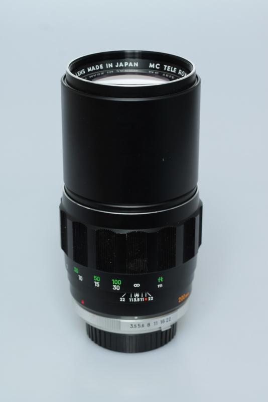 Minolta MC 200mm f3,5