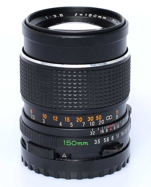 Mamiya 645 3.5 - 150mm