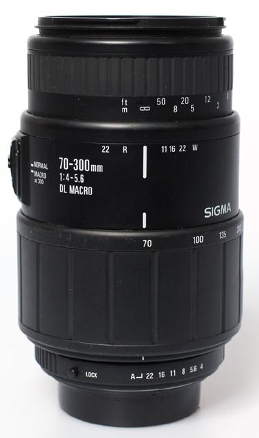 Sigma 70-300 f4,0-5,6 macro DL N-AFD