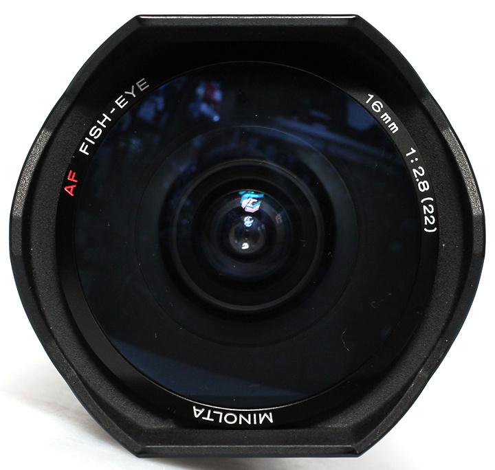 Minolta 16mm f2,8 fisheye