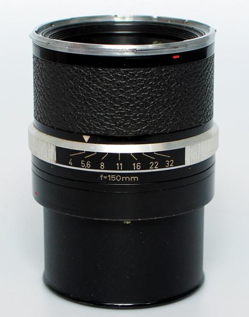 Rollei f 4.0 - 150mm Sonnar