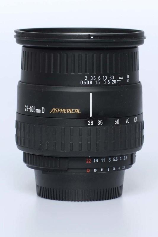 Sigma f2.8~4.0 - 28/105mm N AFD