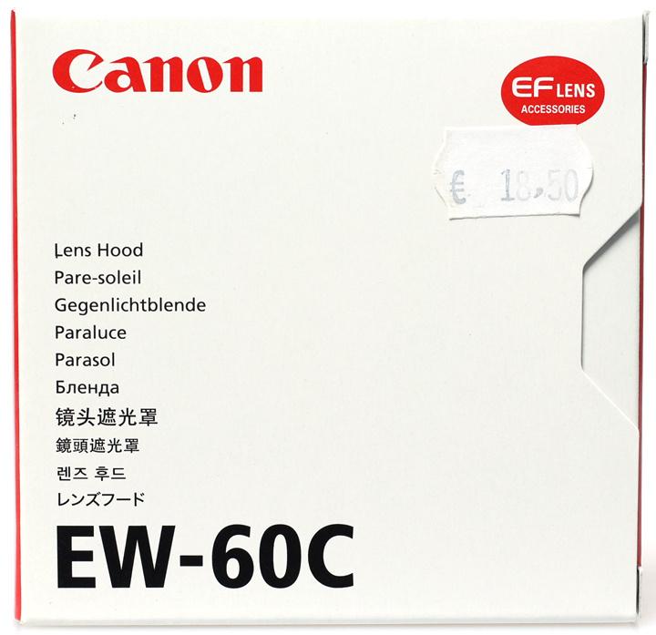 Canon EW-60C zonnekap