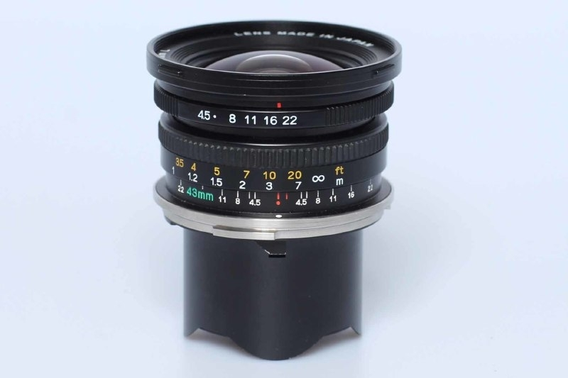 Mamiya 7   43mm f4,5