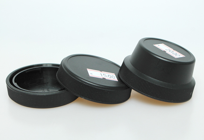 Contax G lens caps