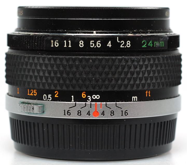 Olympus OM 24mm f2,8
