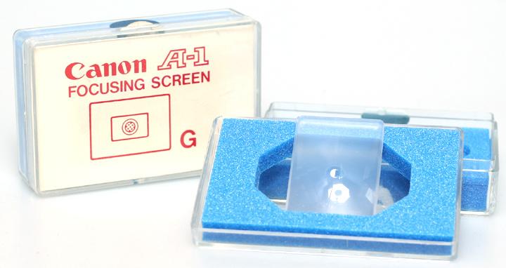 Canon A-1 matglas type G