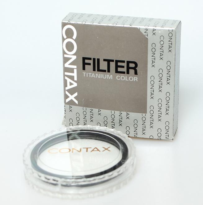 Contax G UV-filter (titanium color) 55ø