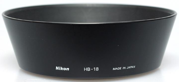 Nikon HB-18 zonnekap