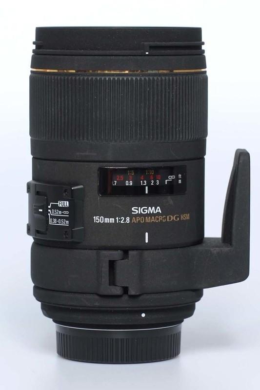 Sigma f2.8 - 150mm Macro EX APO DG HSM