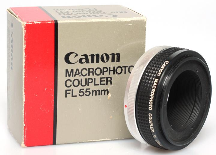 Canon macrophoto coupler FL 55mm