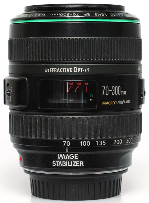 Canon 70-300 f4,5 5,6 DO ( Diffractive optics )