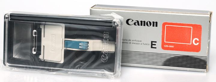 Canon matglas E type C