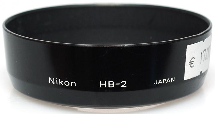 Nikon HB-2 zonnekap