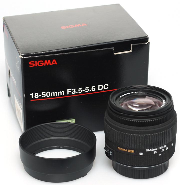 Sigma 18-50 f3,5-5,6 dc Nikon AF-D