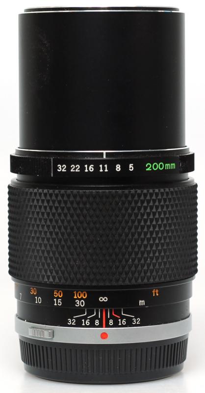 Olympus OM 200mm f5,0