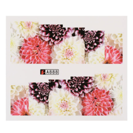 CN Nail Sticker (A888) autumn
