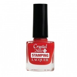 Cn Stamping Laquer Red