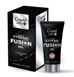 CN Xtreme Fusion Gel Transparant pink 30 gr